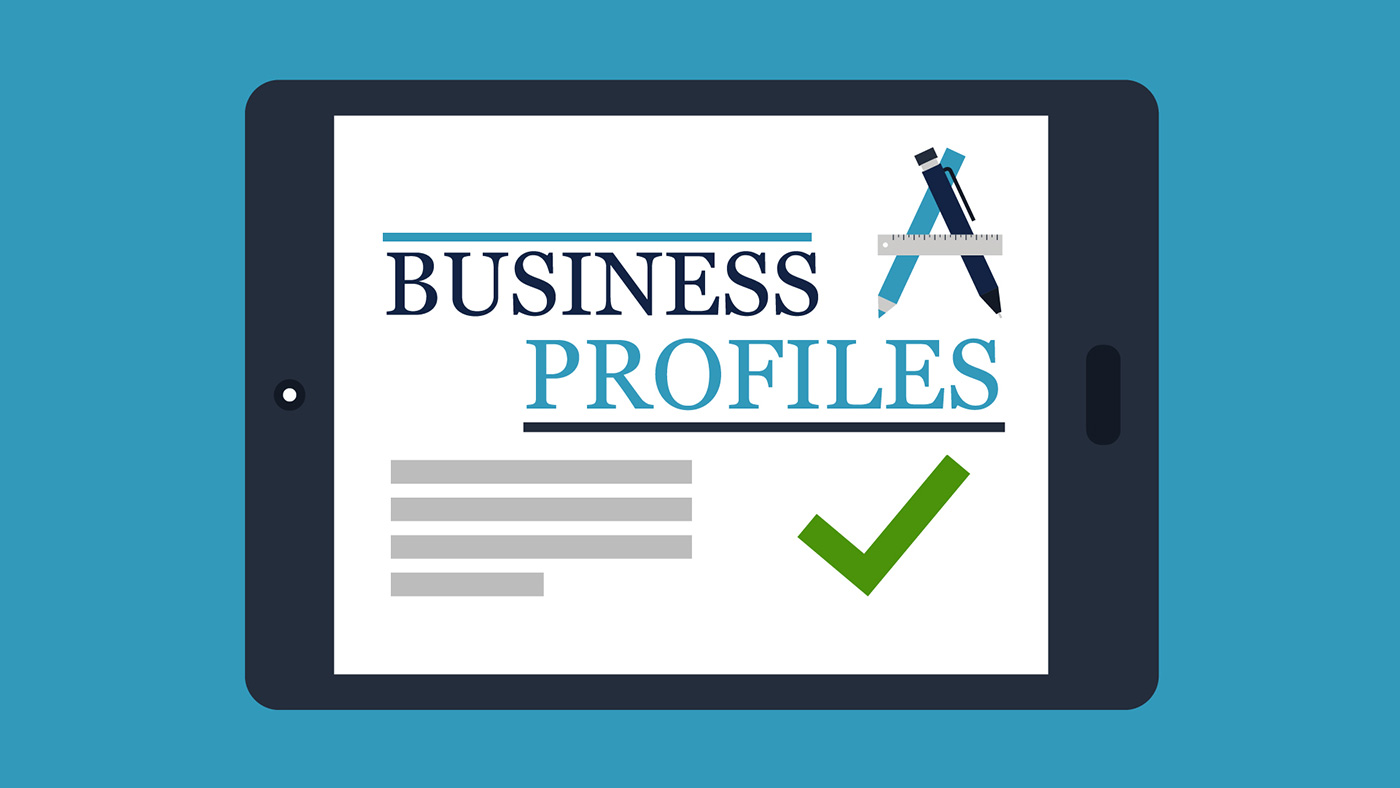 business profile The free business profile template provides you with an example of a business profile it depicts all the prominent information about the company like the type of business, contact information, business history, building features and more.